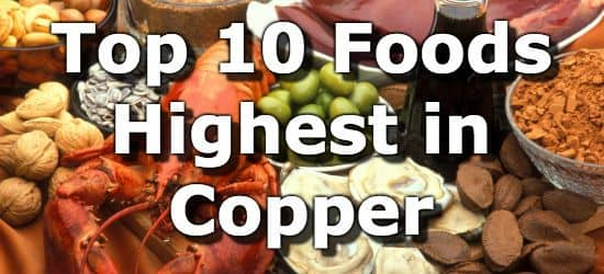 Foods High In Iron Zinc And Copper