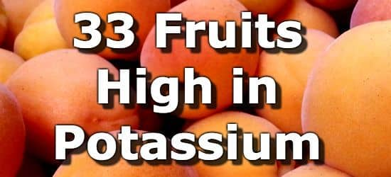 fruits high in potassium is dehydrated fruit healthy
