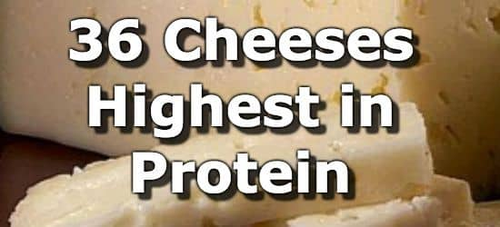 36 Cheeses Highest in Protein