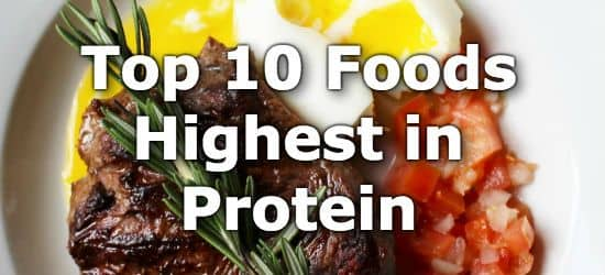 The Top 10 High Protein Foods - Clear and Detailed Information for Your Best Protein Sources