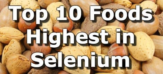 Foods that have lithium