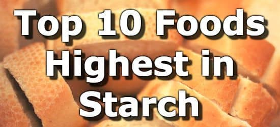 High Amylose Starch Foods