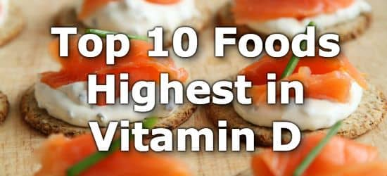 What foods are high in vitamin d3