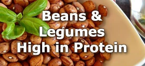 37 Beans and Legumes with the Most Protein